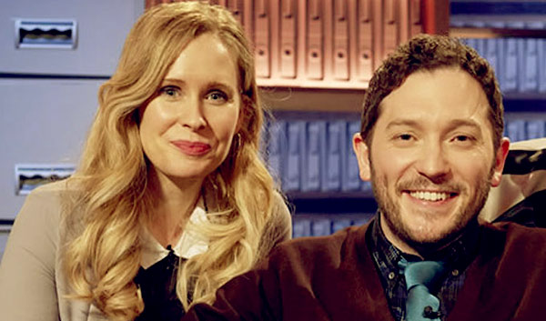 Image of Lucy Beaumont married fellow comedian Jon Richardson