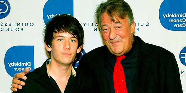 Image of Elliot Spencer and Stephen Fry are together for more than seven years
