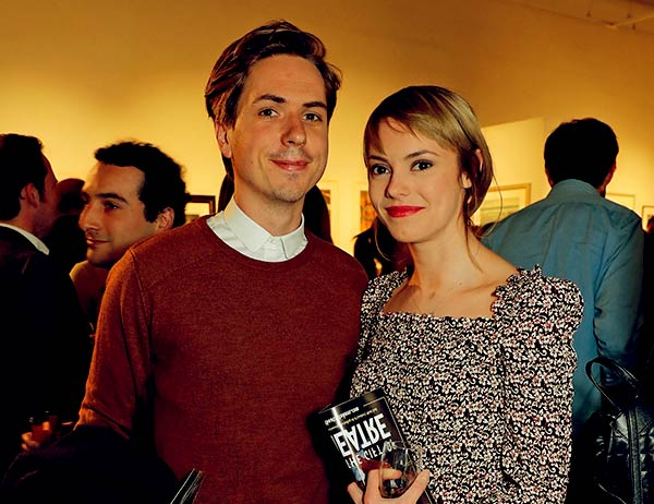 Image of Joe Thomas engaged Hannah Tointon in 2017