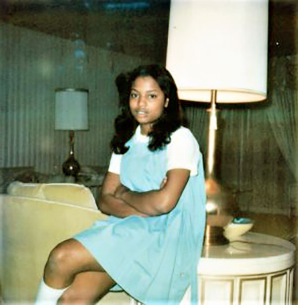 Image of Sixteen years old Lynn Toler