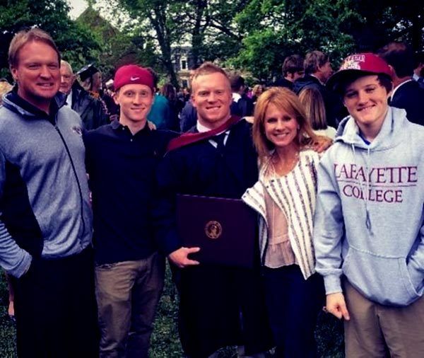 Image of  Deuce's Graduation Along With His Brothers & Parents Cindy And Jon