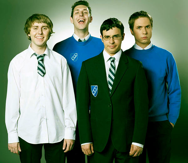 Image of Joe Thomas with his co-stars