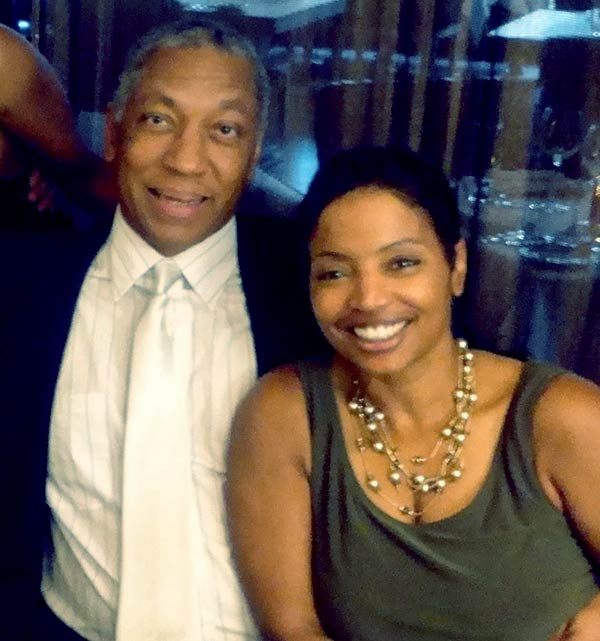 Image of Lynn Toler with her husband Eric Mumford