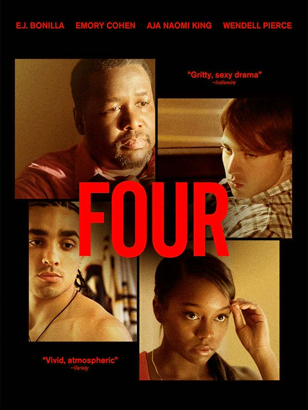 Image of The theatrical poster of Wendell Pierce's movie, Four.
