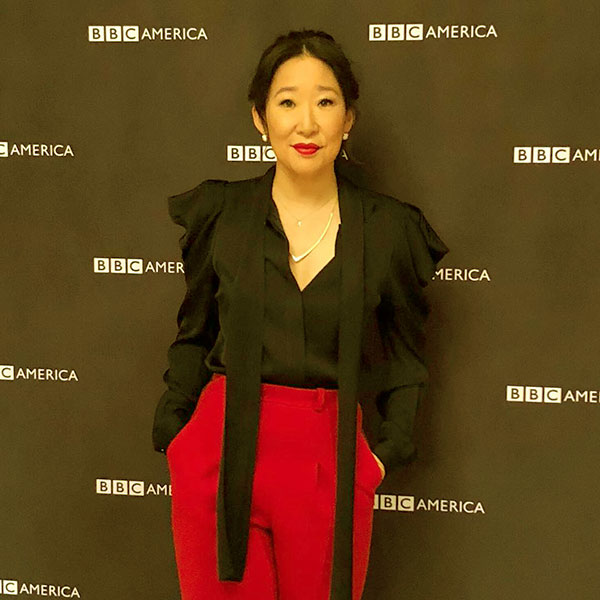 Image of Sandra OH, the former actress of Grey's Anatomy