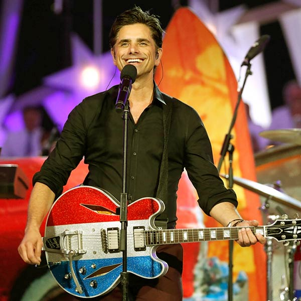 Image of John Stamos is a singer
