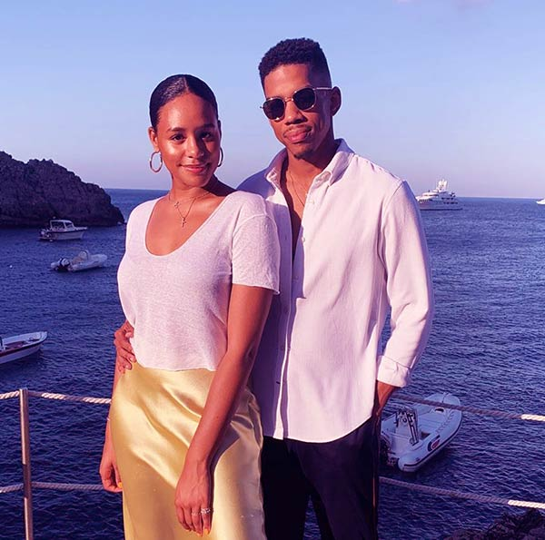 Image of Wynton Harvey, And His Partner, Taylor Gordon In Capri, Italy