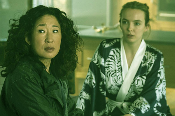 Image of Sandra Oh portrayed the role of Eve Polastri on 'Killing Eve.'