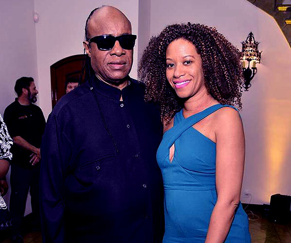 Image of Stevie Wonder Married Tomeeka Robyn Bracy