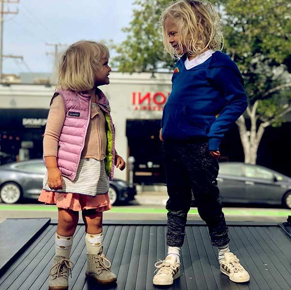Image of Eric Christian Olsen and Sarah Wright's Children