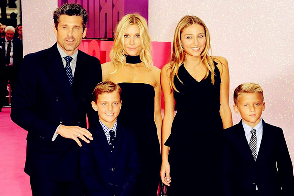 Image of Jillian's husband, Patrick and Three Kids
