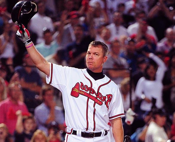 Image of American baseball player, Chipper Jones