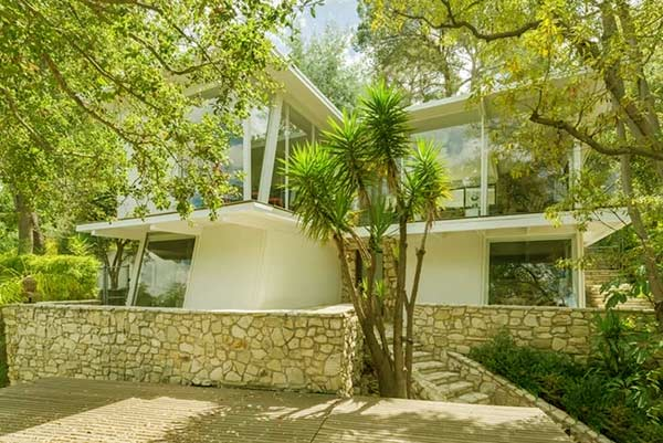 Image of Ellen's Hollywood Hills home