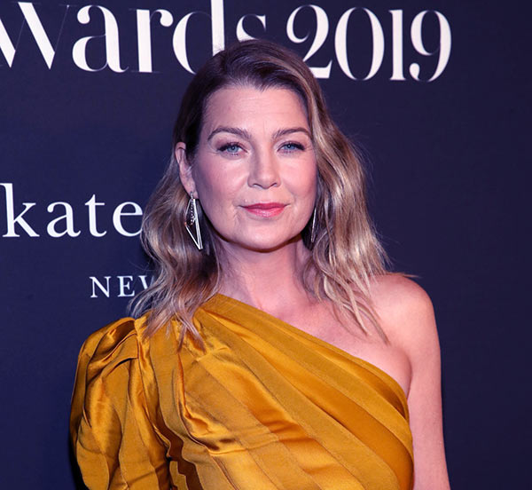 Image of Grey's Anatomy's actress, Ellen Pompeo