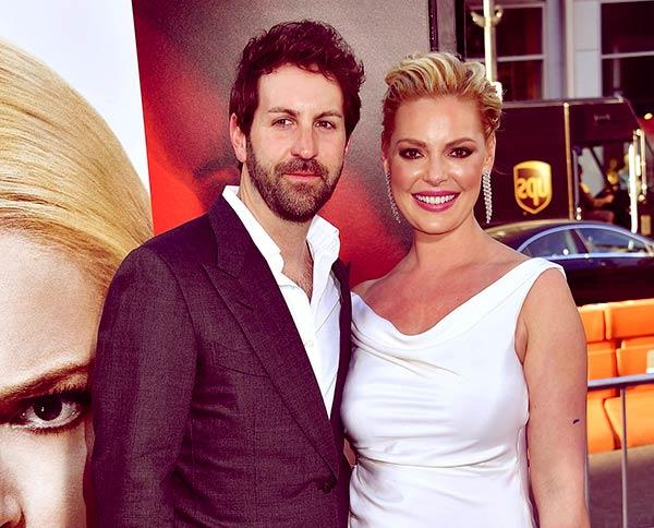 Image of Josh Kelley with his wife Katherine Heigl