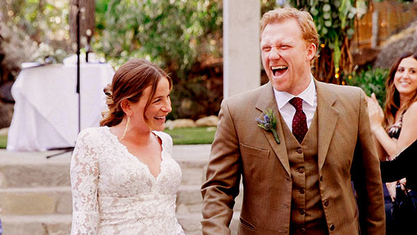 Image of Arielle Goldrath with her husband Kevin McKidd