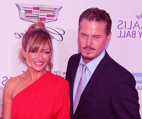 Image of Rebecca Gayheart with her husband Eric Dane