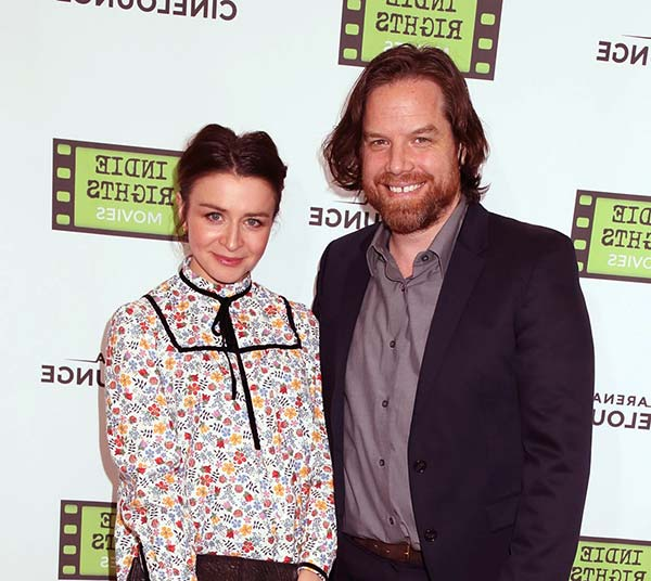 Image of Rob Giles with his wife Caterina Scorsone