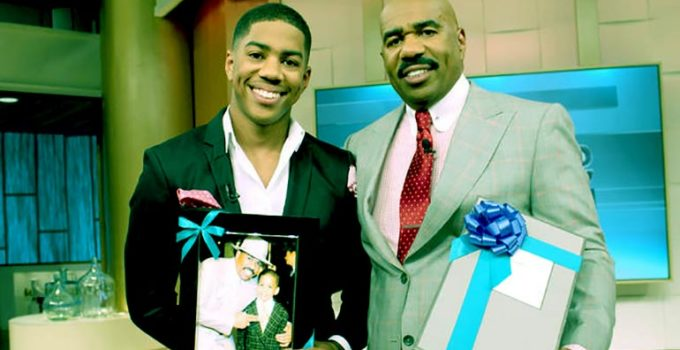 Image of Wynton Harvey, Steve Harvey Son Bio, Age, College, Mother, Parents, Siblings, & Dating