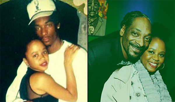 Image of Shante Broadus and Snoop Dogg