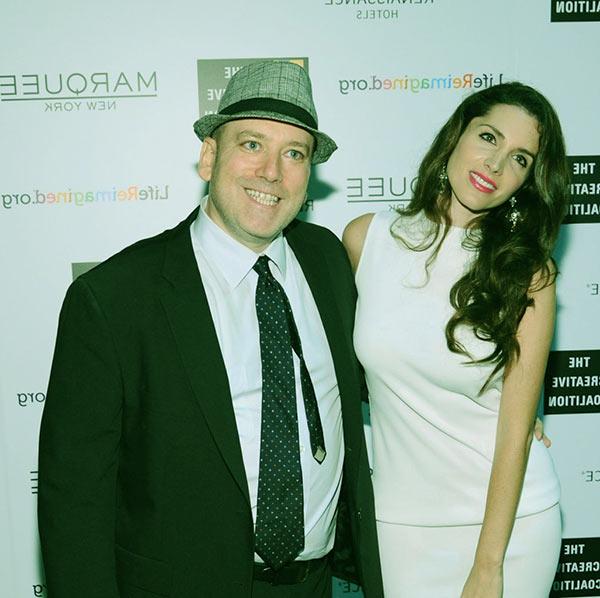 Image of Benjy Bronk with his ex-girlfriend, Elisa Jordana