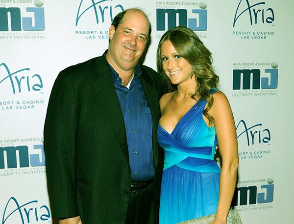 Image of Celeste Ackelson with her husband Brian Baumgartner