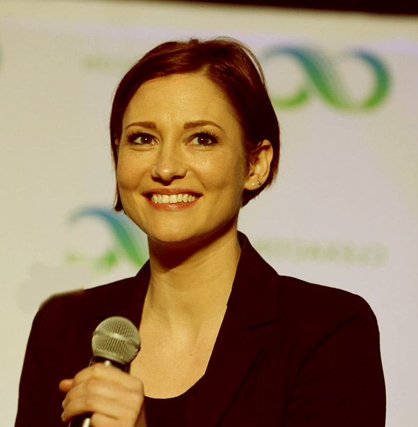 Image of American actress, Chyler Leigh