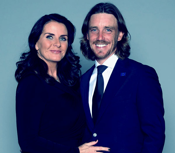 Image of Clare Fleetwood with her husband Tommy Fleetwood