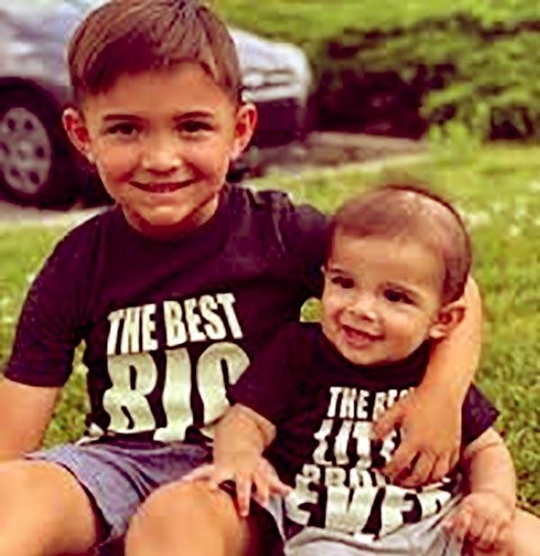 Image of Javi Marroquin kids Lincoln Marshall Marroquin and Eli Joseph