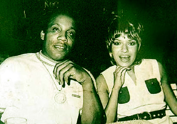 Image of Julianna Farrait and her husband Frank Lucas
