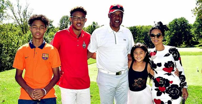 Image of Julius Erving's Complicated Family Life; Children through and Outside Married Life