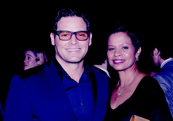Image of Justin Chambers with his wife Keisha Chambers