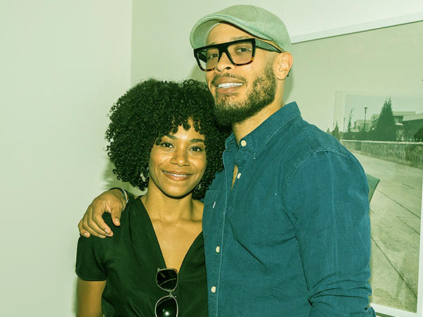 Image of Kelly McCreary with her husband Pete Chatmon