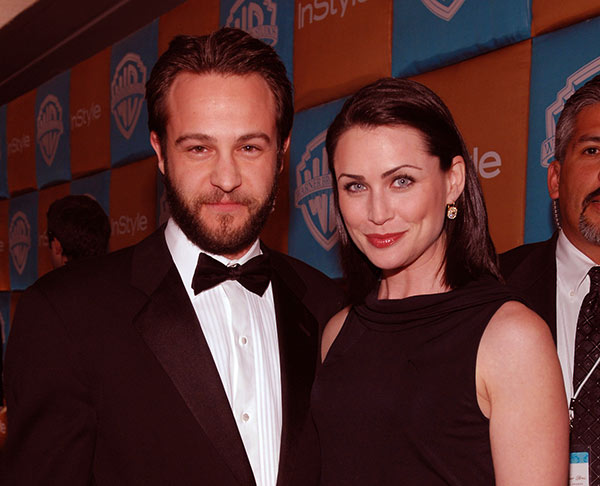 Image of Rena Sofer with her husband Sanford Bookstaver