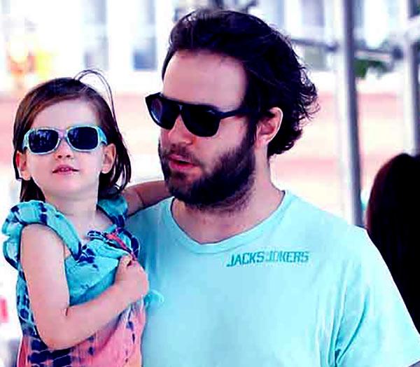 Image of Taran Killam with his daughter Shaelyn Cado Killam.