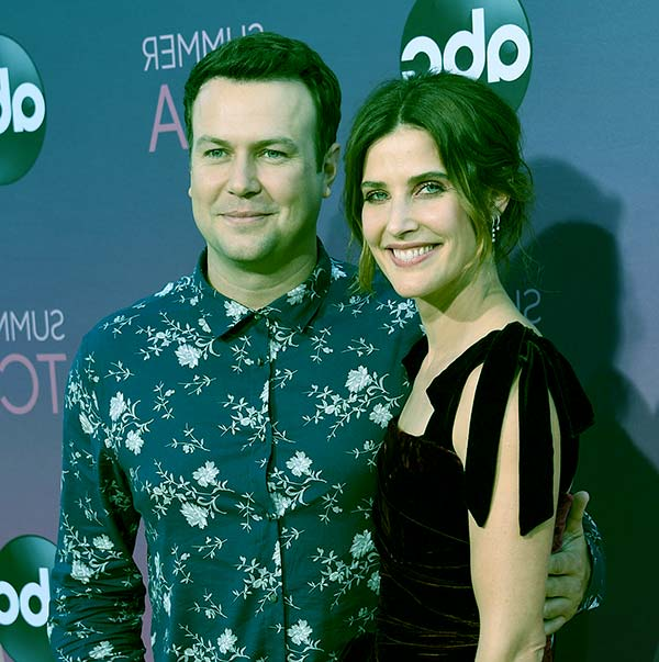 Image of Taran Killam with his wife Cobie Smulders