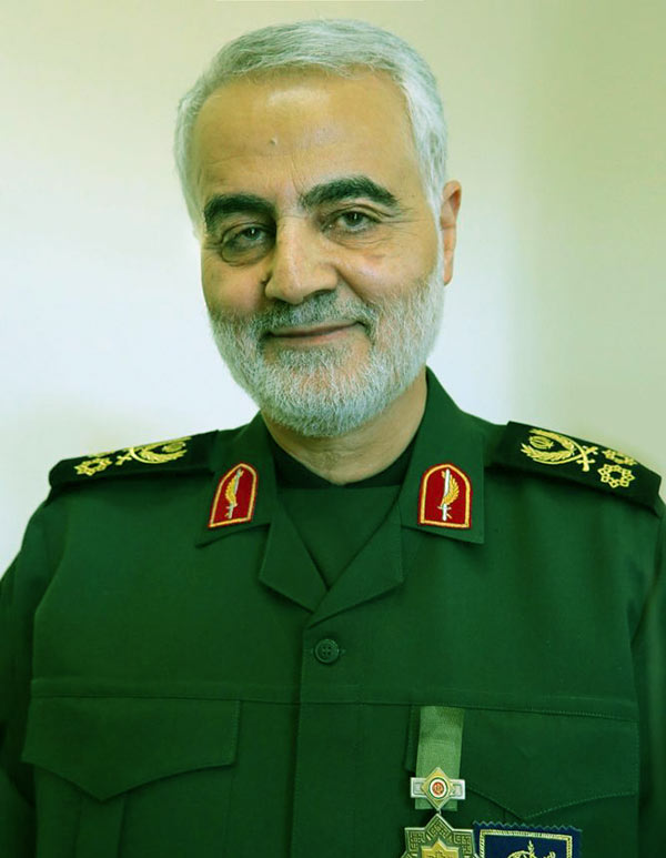Image of Iranian general, Qasem Soleimani