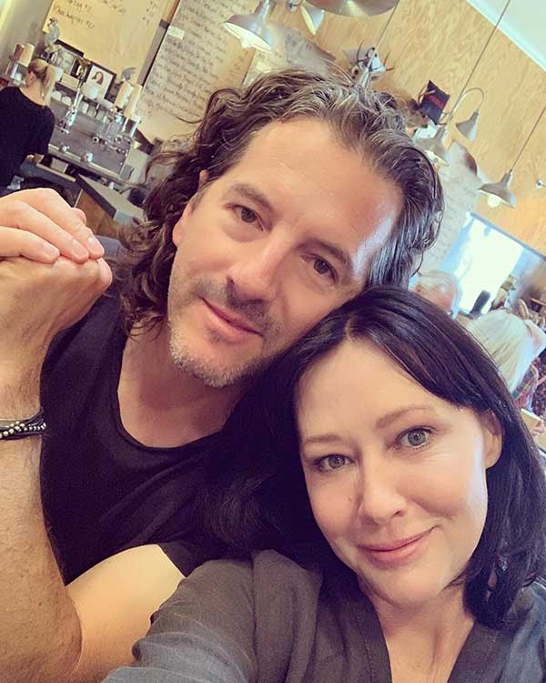 Image of Kurt Iswarienko with his wife Shannen Doherty