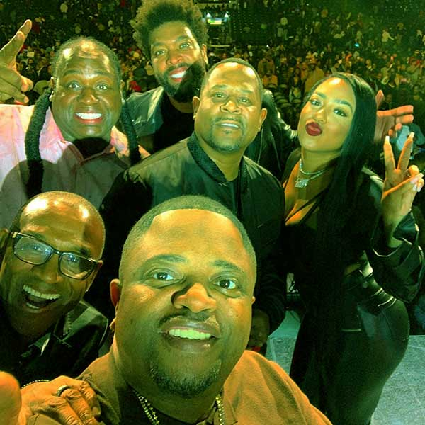 Image of Caption: Martin Lawrence is performing with several other comedians in the tour