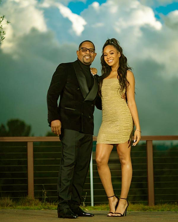 Image of Caption: Martin Lawrence's oldest daughter Jasmine Page is a 24-year-old beauty
