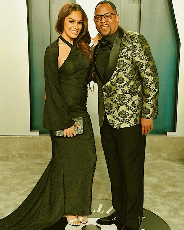 Image of Caption: Martin Lawrence is currently dating Roberta Moradfar